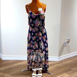 🌠forever 21🌠 Floral Hi-Low Dress